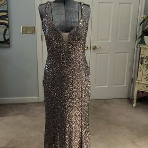 Cachet Sequin Dress